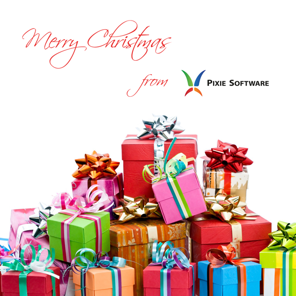 Merry Christmas from Pixie Software